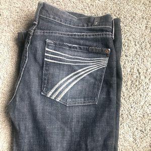 7 for all mankind Dojo jeans, sz 32